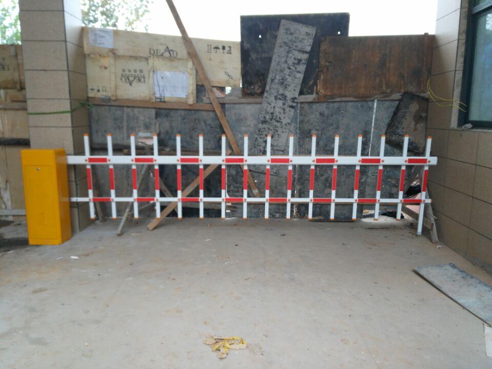 孟津243省道某厂栅栏道闸