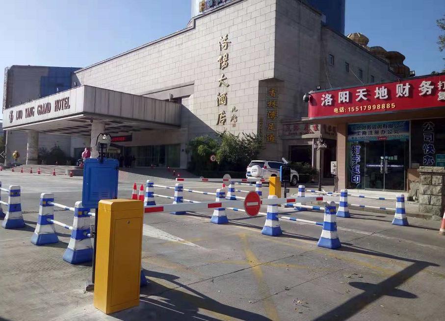 洛阳大酒店车牌识别系统